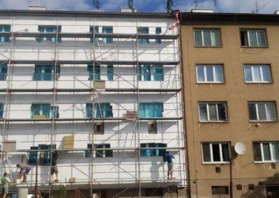 Zateplení BD Třída Míru,Olomouc 0001