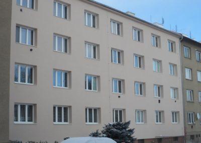 Zateplení BD Třída Míru – Olomouc