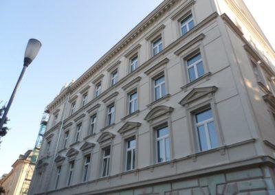 Rekonstrukce fasády – Olomouc, Hynaisova 6