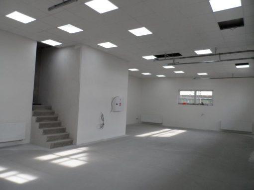 Stavba skladu Signalbau s.r.o. – Přerov-Lověšice