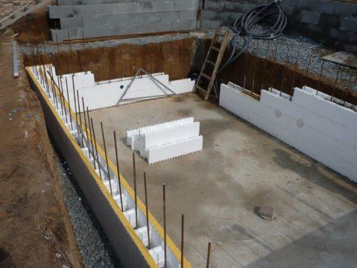 Výstavba venkovních bazénů dle přání zákazníka