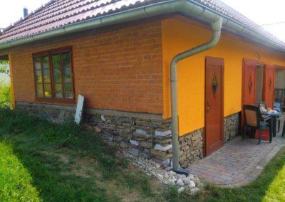 Rekonstrukce fasády RD a stodoly KOVÁŘOV