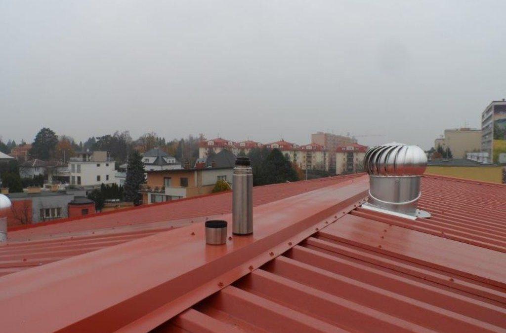 Rekonstrukce sedlové střechy – Olomouc, Neředinská