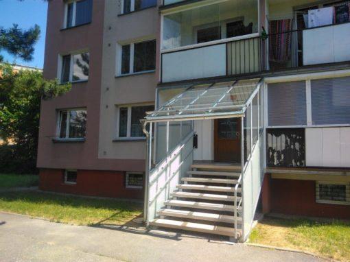 Rekonstrukce vstupu SVJ, Olomouc, Urxova 4